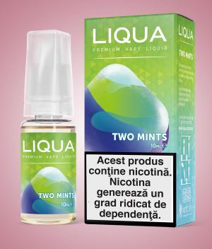 Two Mint Liqua Elements