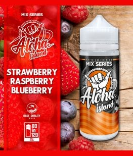 strawberry raspberry blueberry aloha