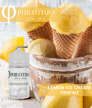 lemon ice cream parfait