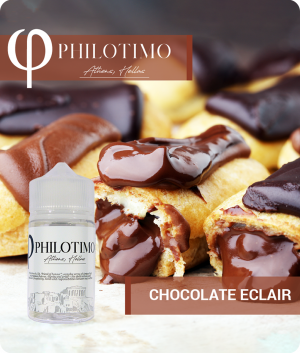 chocolate eclair philotimo