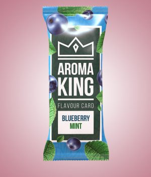 card aromatizant blueberry mint