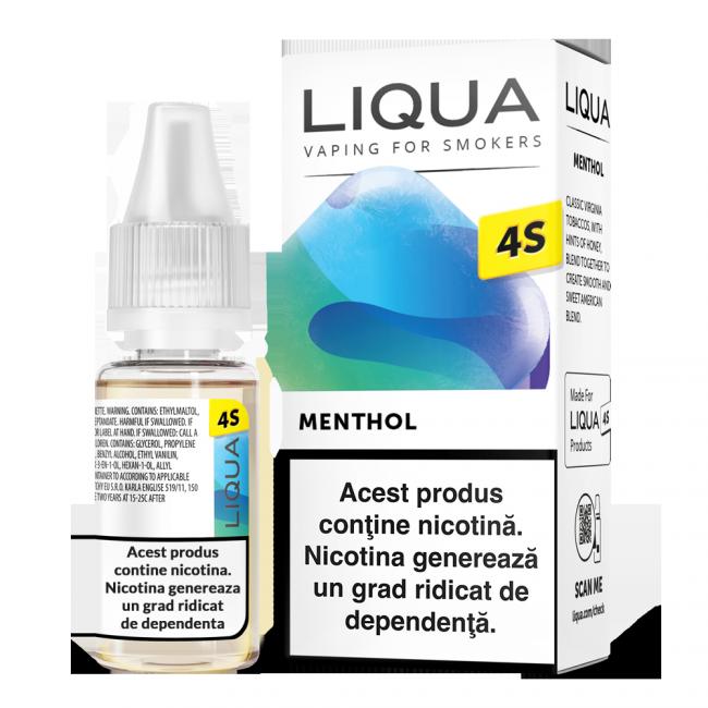 menthol lichid saruri nicotina